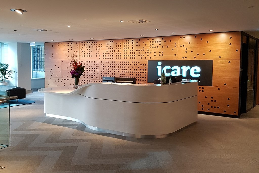 iCare Corian Joinery Wins Design Award