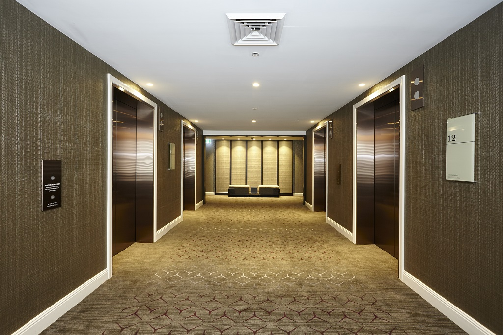 Sheraton Lift Lobby Upgrade