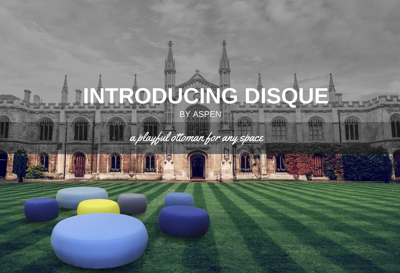 Introducing the New Disque Ottoman